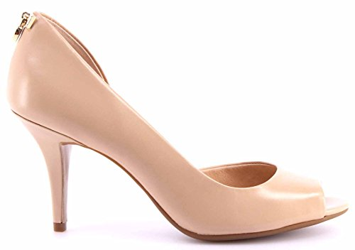 Scarpe Decollete Donna MICHAEL KORS Hamilton Open Toe Flex Smooth Kid Nude Carne