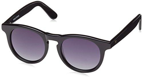 Wolfnoir Unisex-Erwachsene Sonnenbrille HATHI ACE Basic Black, Schwarz (Negro), One Size