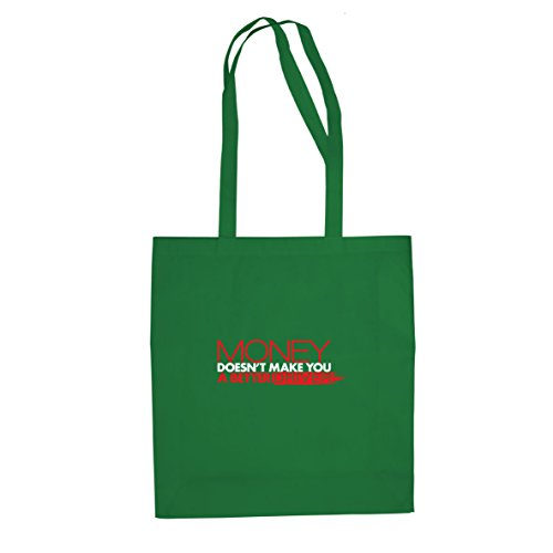 money-doesnt-make-you-a-better-driver-stofftasche-beutel
