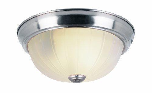 Trans Globe Lighting 14010 BN 1-Light Flush-Mount, 3-Pack, Brushed Nickel by Trans Globe Lighting -