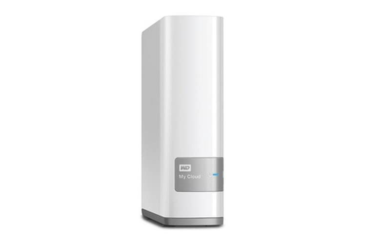 WD 4TB  My Cloud Personal Network Attached Storage - NAS - WDBCTL0040HWT-EESN