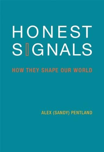 Portada del libro Honest Signals: How They Shape Our World (MIT Press) by Alex Pentland (2010-09-24)
