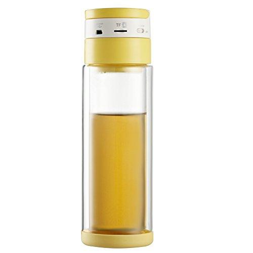 Multi-funzione all'aria aperta bottiglia bottiglie di viaggio Mug (giallo)