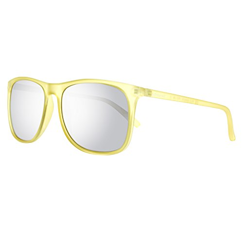 Polaroid Unisex adulto PLD 6002/S JB PVI Gafas de sol, Amarillo (Transp Yellow/Grey Silmir Pz), 56