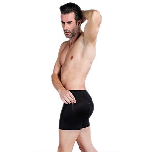 Control Gaff 4PS Schwamm-gepolsterte Panty für Crossdress, hilft die männlichen Genitalien zu decken und zu verbergen (Panty Gepolsterte)