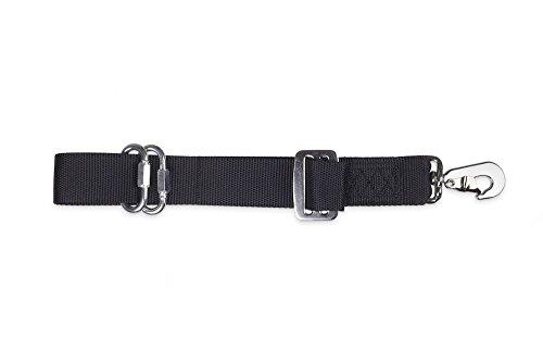Kleinmetall Die original Allsafe verstellbares Hundegeschirr Leine, lang
