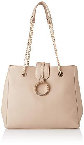 Versace Jeans Couture Damen Bag Schultertasche, Beige (Legno), 14x29x32,5 centimeters