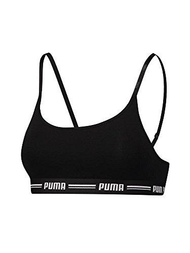Puma Damen Iconic Casual Bralette Bra 1P E-COM Unterwäsche, Black, M