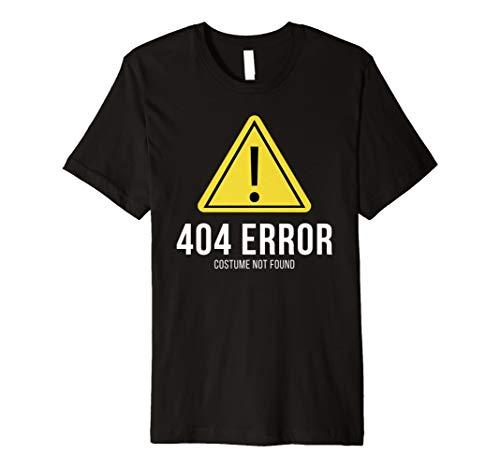 404Error Kostüm nicht gefunden: Funny Halloween-Kostüm T-Shirt