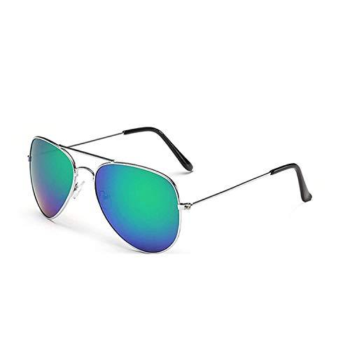 WERERT Sportbrille Sonnenbrillen Pilot Mirror Sunglasses Women/Men Sun Glasses Women Vintage Outdoor Driving