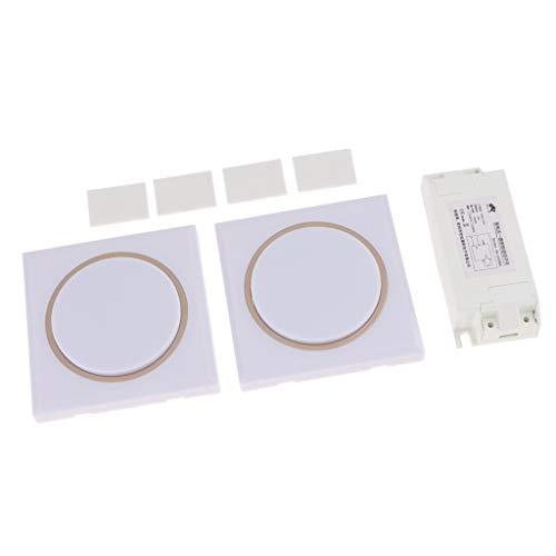 Baoblaze AC85-250V / DC15-120V Wireless 433MHz Fernbedienung Relais Schalter Empfänger für Home Licht -