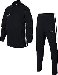 Nike B NK Dry ACDMY TRK Suit K2 Tracksuit, Niños, Black White, ...