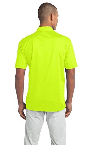 Port Authority Poloshirt für Herren Neon Gelb
