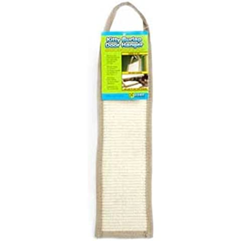 Ware Manufacturing Natural Jute and Sisal Fibers Burlap Door Cat Scratcher by Ware Manufacturing