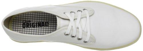 Clarks - Winston Run, Sneaker Uomo Bianco (weiß (cuir Blanc))