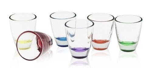 Vasos de chupito VODKA, Tequila–Juego de 6–6colores, ide