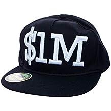 TMT - Gorra de béisbol - para Hombre Negro Negro Talla única 6d06283c43e
