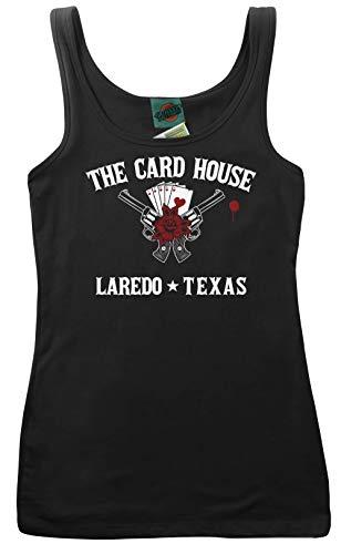 Jim Reeves Inspired Streets of Laredo, Women's Vest, XX Large, Schwarz