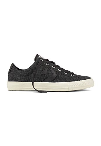 Converse Star Player Ox Almost Black, Sneaker Unisex – Adulto Schwarz (Almost Black/Almost Black)