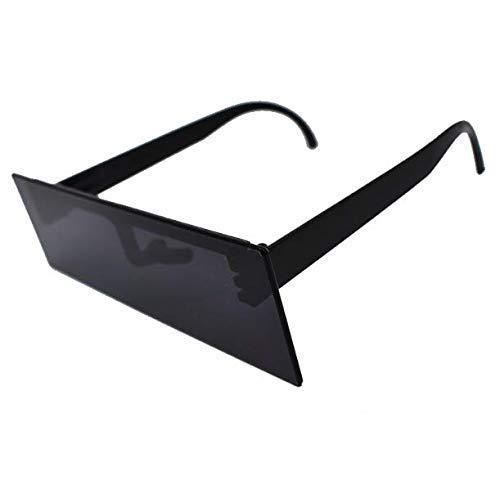 Gwill Cool Black Mosaic Kostüm Gläser Nacht Party Favors Photo Booth Zubehör Halloween Sonnenbrille Party Supplies Dekoration