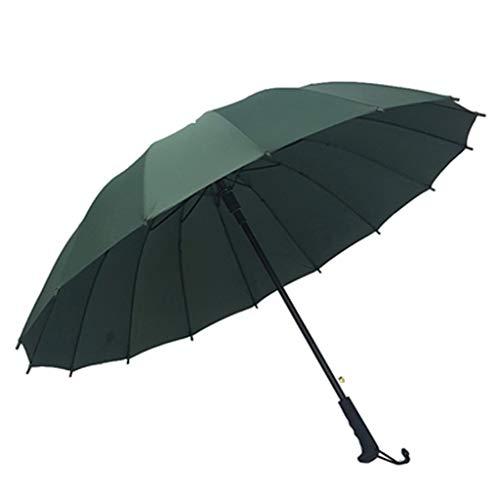 ZEQUAN Paraguas Deportes Y Sombrillas Deportivas Paraguas Plegables Paraguas De Plástico Negro Protección Solar Protección Solar UV Paraguas Publicitario A Prueba De Viento De Doble Capa (Color : 3)