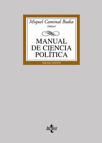 Manual de Ciencia Política (Derecho - Biblioteca Universitaria De Editorial Tecnos) por Miquel Caminal Badía