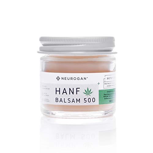 Neurogan´s Hanf Balsam 500MG auf 30g - Schmerzsalbe/hilft die Haut zu regenerieren/pflegt & heilt bei Ekzemen, Insektenstichen, Verbrennungen, Ausschlag, trockener & rissiger Haut und Schmerzen