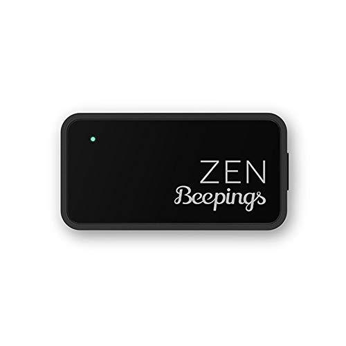 beepings Zen Tag GPS + Magnetbefestigung. Bewegungsmelder für Autos, Motorräder und Roller. Abonnement und Services inbegriffen. Nicht-SIM, Keine zusätzlichen Gebühren. (Alarm-zen)