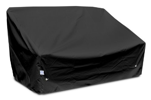 KoverRoos Weathermax 79550 Deep Highback Loveseat/Sofa Cover, 60-Inch Width by 35-Inch Diameter by 35-Inch Height, Black