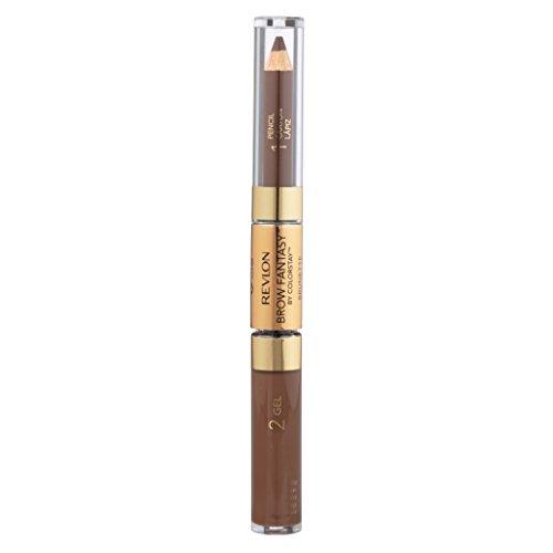 Revlon UC-1005 Brow imagination Crayon et Gel No.105 Brunette - 0,04 oz - Sourcils Crayon