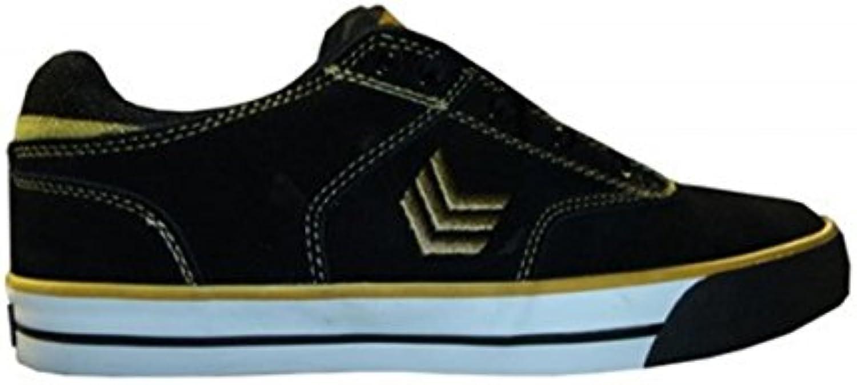 Vox Skate Shoes Lockdown Black/Gold/White  -