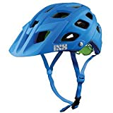 IXS Trail RS - Casco de ciclismo , color azul , talla M ( 58 - 62 cm )