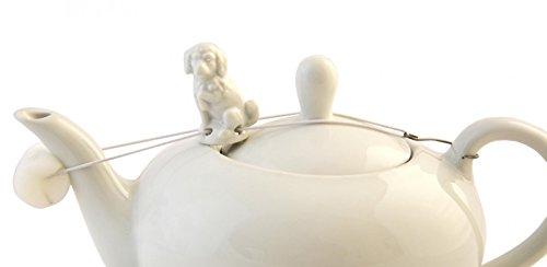 Tropfenfänger für Tee-oder Kaffeekanne 'Pudel'