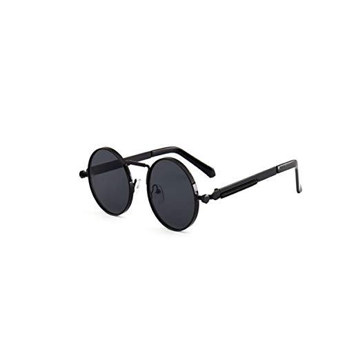 KEHUITONG Sonnenbrillen, Männer und Frauen Casual Fashion Persönlichkeit Round Frame Sonnenbrillen, Retro Sonnenbrillen, dekorative Gläser, hohe Qualität, Hohe Qualität - das Beste Gesc
