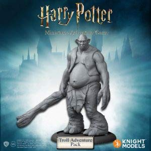 Knight Models HPMAG011 Harry Potter Miniatur-Abenteuerspiel: Troll-Erweiterungspack (Harry Potter-troll-spielzeug)