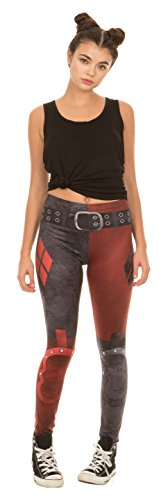 nn Arkham City Leggings (Adult Medium) (Arkham Harley Quinn)