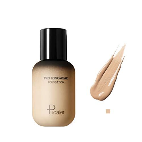 Cwemimifa Instant Anti-Age Effekt Concealer,FOCALLURE Face Foundation Makeup Base Flüssiger Concealer Feuchtigkeitscreme Ölkontrolle,2#