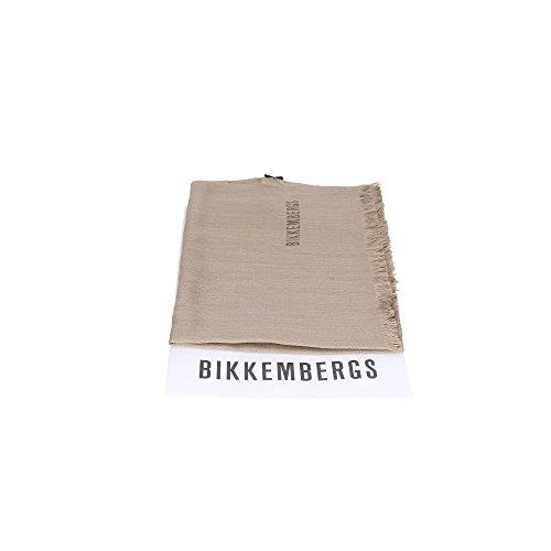 Sciarpa tinta unita Bikkembergs 11731 BEIGE