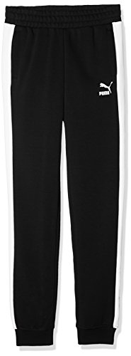 Puma 593723 Pantalons Enfant, Cotton Black, 12 Ans (Taille Fabricant : 152)