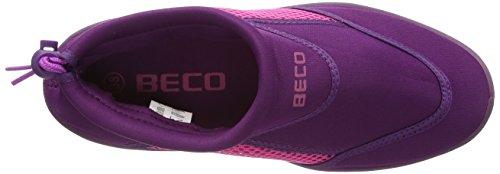Beco–Scarpe da Bagno/Surf bambini Blu (Beere/Pink)