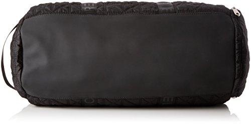 Fiorelli - Flash, Borse a secchiello Donna Nero (Black Quilt)