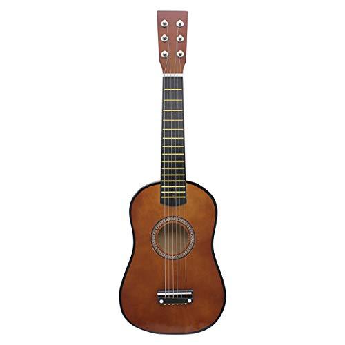Touchmark Kinder Gitarre aus Holz Konzertgitarre Musikinstrument Kindergitarre Holz Starter Size 23 inches (Kaffee)