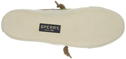 Sperry Top-Sider Seacoast Seaweed Pink Mlt, Baskets Basses Femme Rose - Rose