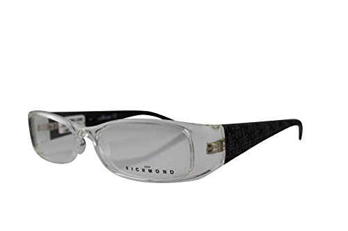 JOHN RICHMOND Damen Brillengestell JR09802 (51/16) Transparent, Schwarz
