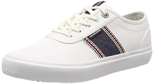 JACK & JONES Jfwaustin Denim Stripe Bright White