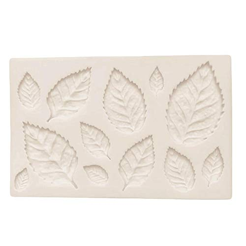 Michelle ShawLO Blatt-Apfelblatt Silikon-Form Set Flip Zucker Silikon-Form Kuchen Dekorative Form Silicone Mold Decorative Mold -