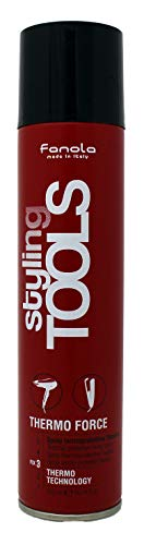 Fanola Styling Tools Thermo Force Thermal protective fixing spray - Hitzeschutz Frisierspray, 300 ml