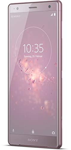 Sony Xperia XZ2 Smartphone (14,5 cm (5,7 Zoll) IPS Full HD+ Display, 64 GB interner Speicher und 4 GB RAM, Dual-SIM, IP68, Android 8.0) Ash Pink - Deutsche Version Ericsson Handy Adapter