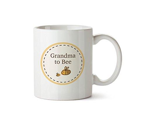 Oma zu Tasse Neue Baby Dusche Keramik Geschenk 283,5Kaffeetasse Bumble Bee Design (Oma-baby-dusche)
