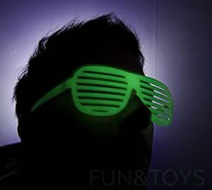 KANYE WEST 'STRONGER' GLOW IN THE DARK SHUTTER SHADES